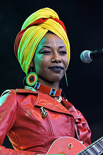 Fatoumata Diawara Malian musician and actress