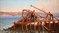 Fausto Zonaro - Fishermen Bringing in the Catch.jpg