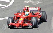 Felipe Massa took pole position for Ferrari, but had to settle for third place in the race behind Robert Kubica's BMW Sauber.