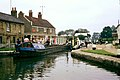 Fenny Stratford lock, 1968 - geograph.org.uk - 1621033.jpg