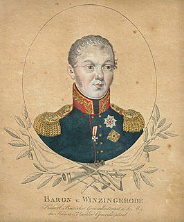 Ferdinand von Wintzingerode German soldier