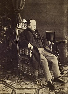 Photograph of the aged Ferdinand dated circa 1870