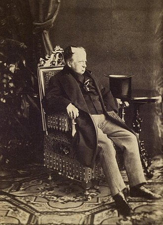 Hungarian Revolution of 1848 - Photograph of the aged Emperor Ferdinand I dated circa 1870