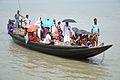 Ferry Boat Crossing River Matla - Godkhali - South 24 Parganas 2016-07-10 5005.JPG