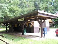 Fetter's Mill Village, Bryn Athyn Train Station 11.JPG