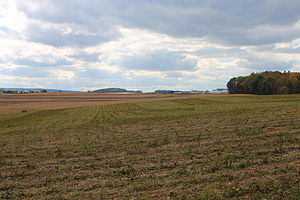 Numidia, Pennsylvania - Fields in eastern Numidia