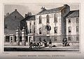 Figures standing outside the Trades' Maiden Hospital, Edinbu Wellcome V0012617.jpg