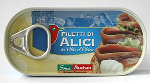 Anchovies as food - Image: Filetti di Alici