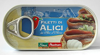 Fermented fish - Image: Filetti di Alici