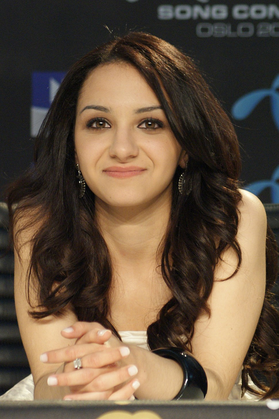 Filipa Azevedo @ press conference during Eurovision Song Contest 2010