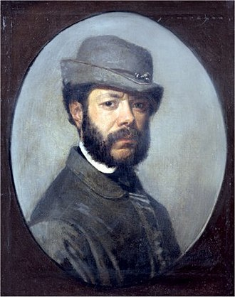 Filippo Palizzi - Self-portrait, c. 1860