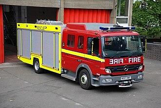 London Fire Brigade appliances - Fire rescue unit