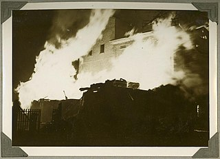 1936 Bundaberg distillery fire