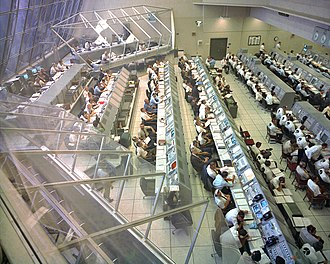 Engineer - NASA Launch Control Center Firing Room 2 as it appeared in the Apollo era