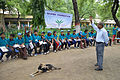 First Aid and Emergency Management Session - Summer Camp - Nisana Foundation - Sibpur BE College Model High School - Howrah 2013-06-08 9174.JPG