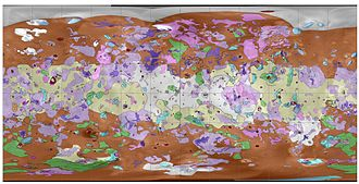 Geological map of Io First Geologic Map of Jupiter's Moon Io.jpg