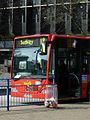 First London articulated bus EA11028 Mercedes Benz O530 Citaro in Euston London 19 March 2009.jpg