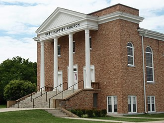 Watertown, Tennessee - First Baptist Church in Watertown