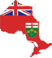 Flag-map of Ontario.svg