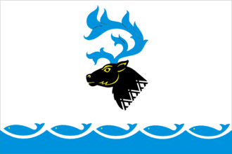 Yamalsky District - Image: Flag of Yamalsky rayon (Yamal Nenetsia)