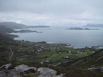 Flatraket - View of Flatraket