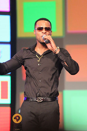 Enugu - Flavour N'abania at the 2014 Africa Magic Viewers Choice Awards