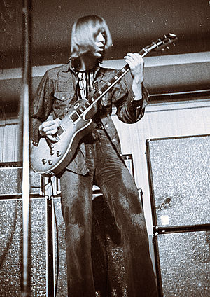 Danny Kirwan - Kirwan playing at the Niedersachsenhalle, Hanover, Germany March 18, 1970