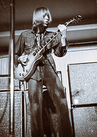 Danny Kirwan - Kirwan playing at the Niedersachsenhalle, Hanover, Germany March 18, 1970