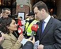 Flickr - NewsPhoto! - Amsterdamse stadsreinigers protesteren bij Giro d'Italia diner (3).jpg