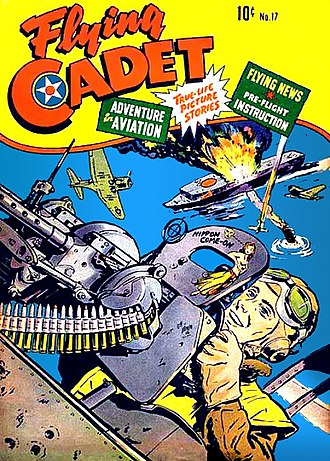 St. John Publications - Image: Flying Cadet 17