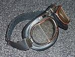 Flying goggles 1980s on grey wool 01.jpg