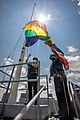 Flying the Pride Flag over the Capitol (50035194192).jpg