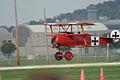 Fokker Dr.I Manfred Richthofen Takeoff 03 Dawn Patrol NMUSAF 26Sept09 (14413270370).jpg