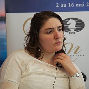 Nana Dzagnidze - Dzagnidze in 2013