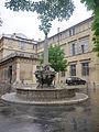 Fontaine des Quatre Dauphins - Aix en Provence - P1350949-P1350955.jpg