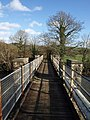 Footbridge across the River Taw - geograph.org.uk - 668516.jpg