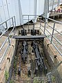 Footbridge mechanism, Greenland Dock.jpg