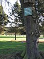 Footpath reminder at the 7th, Walmley Golf Course - geograph.org.uk - 1634145.jpg