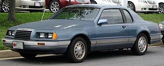 Ford Thunderbird (ninth generation) - Image: Ford Thunderbird 08 12 2010
