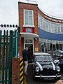 Former Cooper Car Company works - Ivey House Hollyfield Road Surbiton - plaque unveiling.jpg