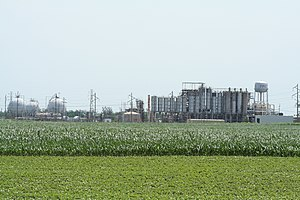 Formosa Plastics Corp - Image: Formosa Plastics plant near Illiopolis Illinois