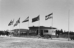 1939 in Norway - Oslo Airport, Fornebu on 1 July 1939, the day it opened.