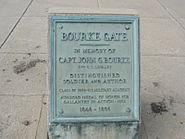 Fort Omaha, Bourke Gate plaque