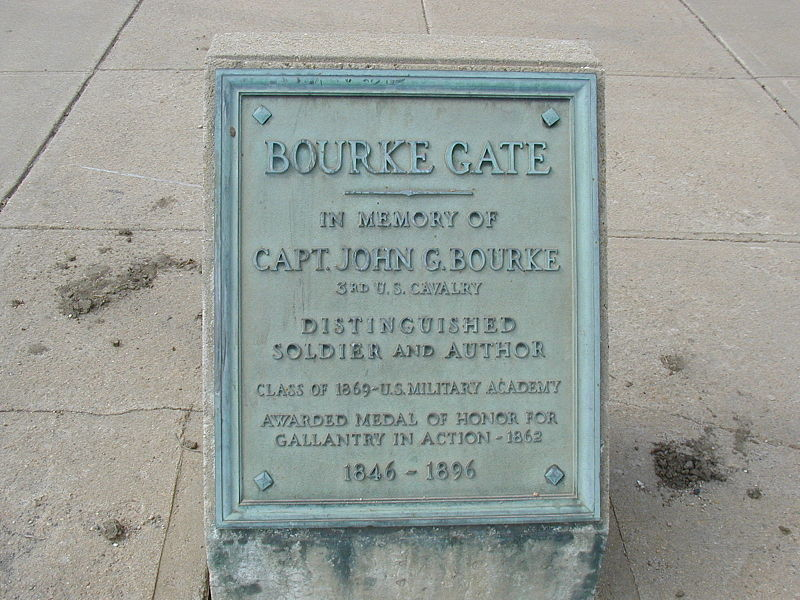 File:Fort Omaha, Bourke Gate plaque.jpg