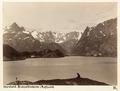 Fotografi av Braksettinderne, Raftsund. Nordland, Norge - Hallwylska museet - 105850.tif