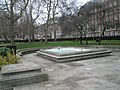 Fountain by the Roosevelt Memorial within Grosvenor Square - geograph.org.uk - 1090069.jpg