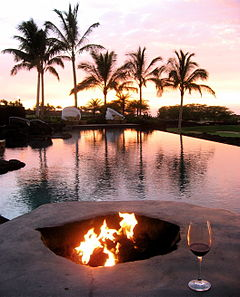 Four Seasons Hualalai pool at sunset.jpg