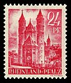 Fr. Zone Rheinland-Pfalz 1947 8 Dom in Worms.jpg