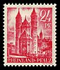 Fr. Zone Rheinland-Pfalz 1947 8 Dom in Worms.jpg