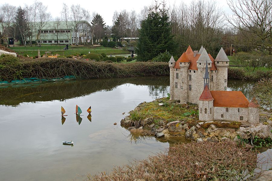 France Miniature, a miniature park tourist attraction in Élancourt, France.